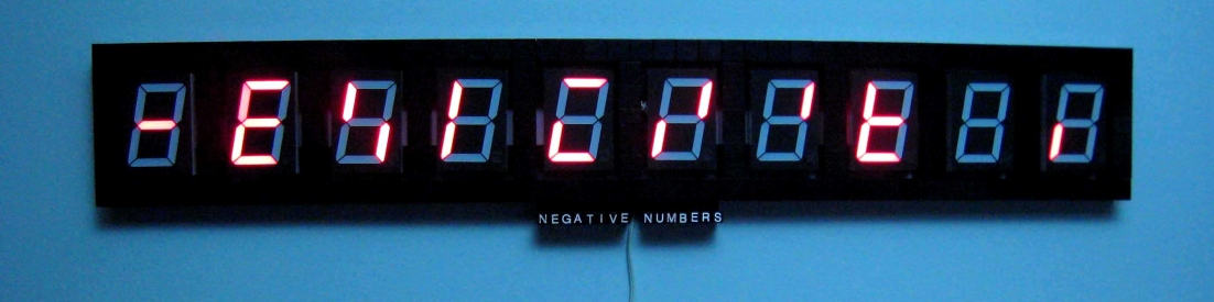 Negative Numbers Thin